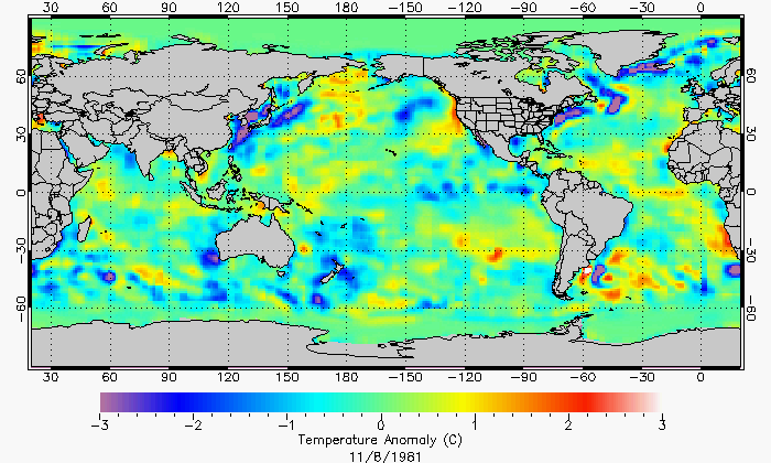 Surface current investigations temperature anomaly map for the whole ocean 1181981 gumiabroncs Gallery