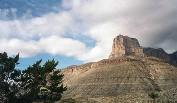 El Capitan, Capitan Reef, Guadaloupe Mountains National Park, Texas